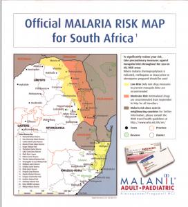 SA Malaria Risk Map